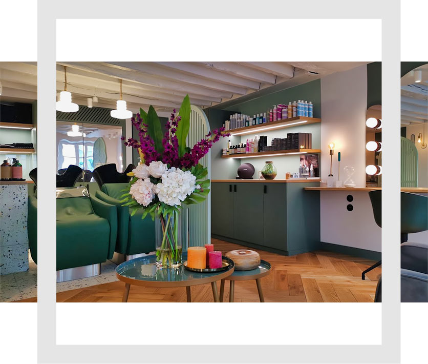 foto del salone di parrucchiere di Alex Cruzel'Alex Cruzel